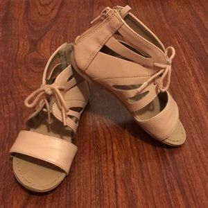 Little girls stylish sandals